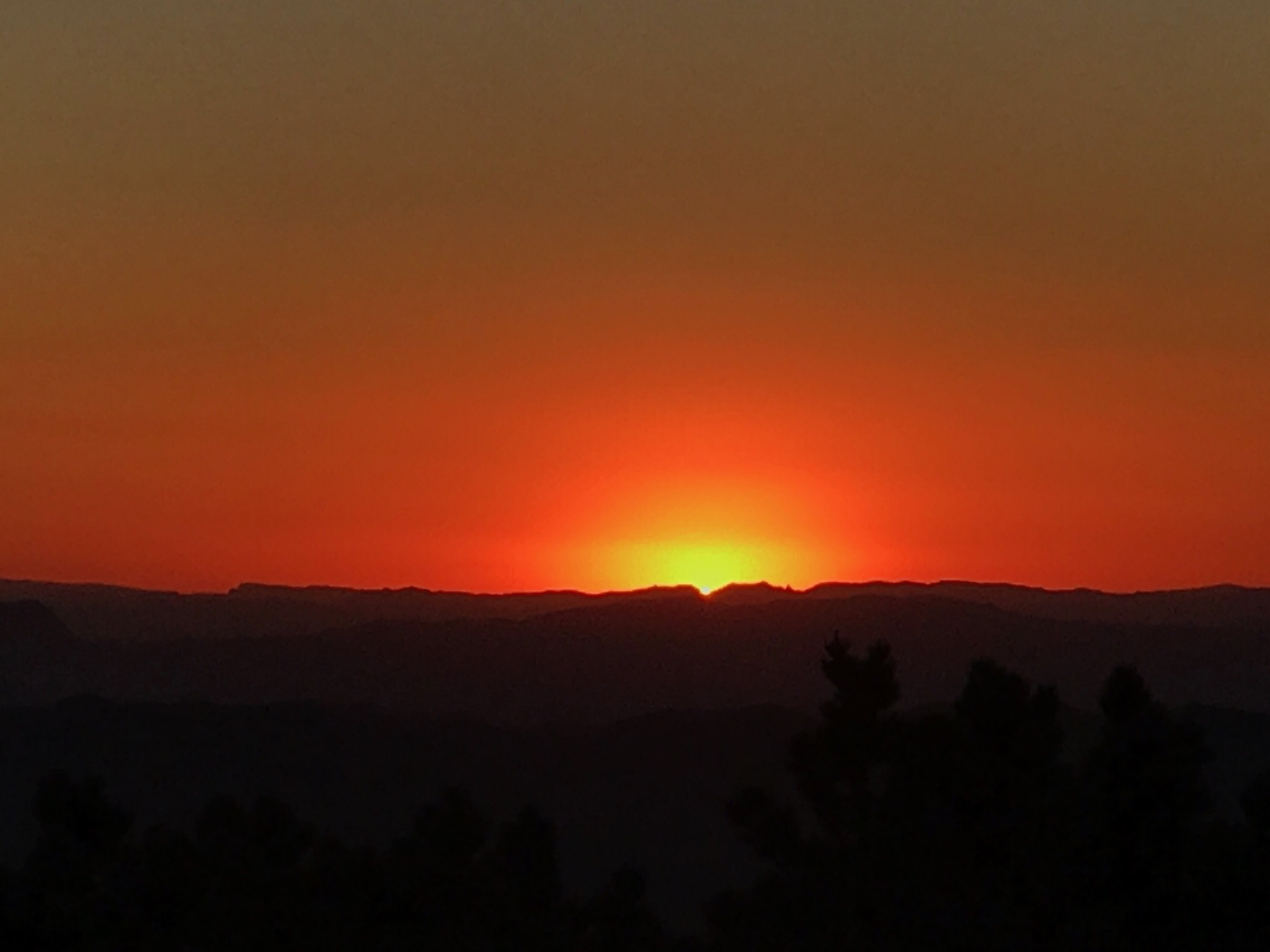 17_04_Kitt Peak Sunset